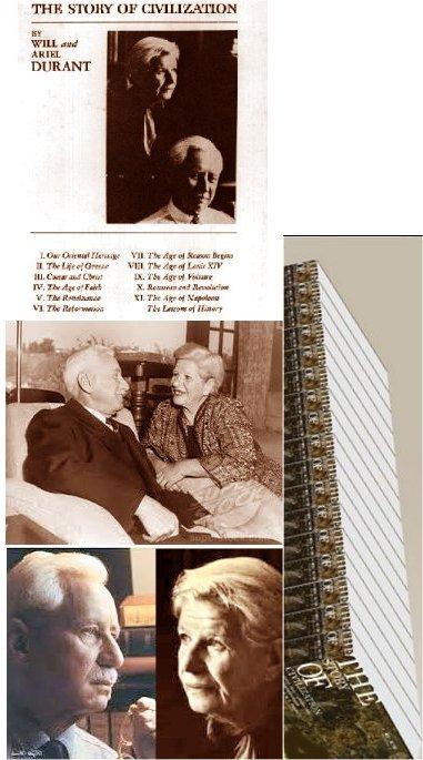 ویل، اریل و فهرستی از تألیف 11 جلدی تاریخ تمدن